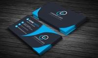 إنشاء بطاقة عمل جذابة وبطاقة بريدية مقابل 5 دولار