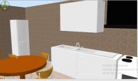صنع مجسمات ثلاثية الابعاد لجميع المخططات الهندسية منزل فيلا متجر 5 ولار ل4 متر مربع