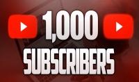 1000 مشترك حقيقي وامن علي قناتك