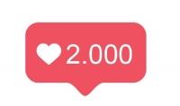 نشر حسابك في صفحة مليونية للحصول علي 2000 لايك   هدية