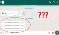 معرفة الرسائل المحذوفة على تطبيق الواتساب