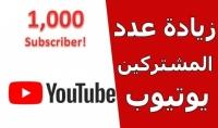 احصل علي 1000 مشترك عربي حقيقي من خلال الترويج والنشر