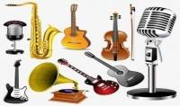توزيع وتلحين وتأليف وصناعة الموسيقى والمزيكا