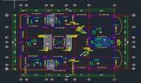 رسم مخططات الهندسة المعمارية ع برنامج الاوتوكاد  AutoCAD