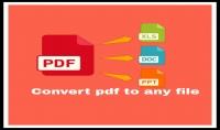 كتابة ابحاث في كل محالات   تحويل ملفات من pdf على word   pawerpoint