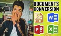 تحويل أي ملف مكتوب أو مرئي إلى ملف pdf