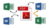 تفريغ البيانات من  مواقع   pdf  word  صور   في ملف اكسل