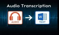 تفريغ ملفاتك الصوتية باللغة الانجليزية الي ملف WORD بدقة واحترافية 10 دقيقة مقابل 5 $