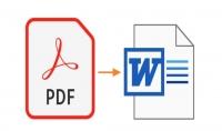 تفريغ نصوص من صيغة pdf او صورة إلى صيغة word