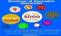 قاعدة بيانات لاكثر من 5000 صيدلية داخل الاسكندرية