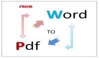 كتابة أو تحويل 20 ورقة من PDF إلى Word والعكس ب 5 دولار