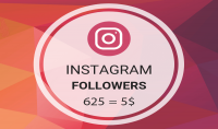 إنستقرام متابعين [ عرب حقيقي 100%] متفاعلين 5$ لكل 625 متابع