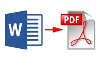 كتابة نص في الوورد word من ملف مكتوب يدويا أو صور .. الخدمة ب 5 دولار لكل 25 صفحات.. تحويل أي ملف Word إلى ملف pdf