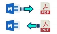تحويل من 1 الى 5 ملفات PDF الى WORD أو العكس ب $5 فقط
