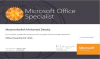 تصميم عرض تقديمي مصمم متخصص و معتمد من شركة Microsoft