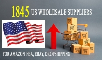 أعطيك 1800 قائمة موردين بالجملة من الولايات المتحدة لدروبشيبينغ وeBay و Amazon FBA