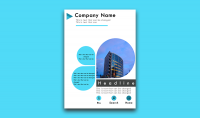 تصميم فلاير إعلاني جاهز للطباعة لشركتك أو متجرك