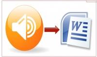 تفريغ المقاطع الصوتية إلى نصوص لكل 15 دقيقة
