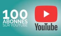 سأجلب لك 100 مشتركيين حقيقيين و 100 مشاهدات حقيقية في اليوتيوب.