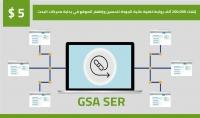 200.000 Backlinks بواسطة GSA SER لتعزيز ترتيب الموقع SEO