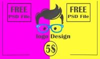 تصميم شعار لنشاطك التجارى   ملف مفتوح المصدر PSD