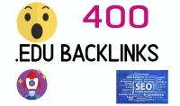 أنشاء 400 باك لينكس EDU. تساعدك على أن تتصدر نتائج محركات البحث.
