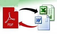 تحويل ملفات Excel....power point....word إلى صيغة PDF والعكس
