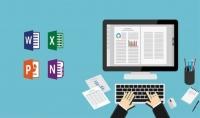 إدخال بيانات على ملفات ال word excel powerpoint