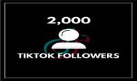 إضافة 1000 متابع تيكتوك 100% حقيقي   100 لايك هدية بـ 5$
