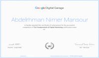الحصول على شهادة google في التسويق