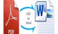 تحويل الملفات من pdf الى ورد
