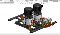 تصميم اجزاء ميكانيكية علي برنامج SolidWorks