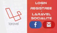 برمجة صفحة LoginوRegistre مع إضافة خاصية Socialiteبlaravel 8