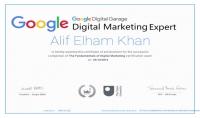 احصل على شهادة جوجل بالغة الانجليزية