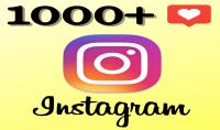 نقدم 1000 إعجاب  Like  لصورك الخاصة على انستغرام  Instagram  فقط ب 5$