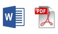 تفريغ ملفات word ل PDF او PDF ل word