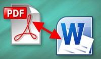 تحويل ملفات pdf إلى word والعكس وتفريغ مقاطع صوتية .