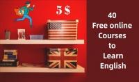 دليلك لتعلم اللغة الانجليزية   40 كورس مجاني   مقابل 5$