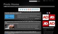 تصميم موقع باستخدام html5 css3 Bootstrap jquery