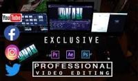 إنشاء مقاطع فيديو رائعة  انتقالات احترافية