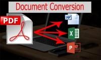 تفريغ سريع لـملفات PDF والصور الى برنامج WORD بأفضل سعر