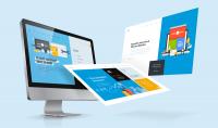 تصميم موقع الكتروني HTML  CSS BOOTSTRAP