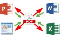 سأحول ملفات PDF إلى DOCX و PPTX و TXT و JPG