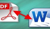 تحويل ملفات pdf الى ورد كل 5 صفحات مقابل 5$