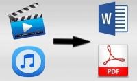 تفريغ المقاطع الصوتية و مقاطع الفيديو