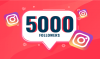 تزويد حسابك على الأنستغرام ب 5000 متابع من أوروبا مع ضمان لمدة شهر
