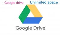 مساحة غير محدودة على غوغل google drive unlimited storage