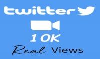 سوف أقدم لك 10k مشاهدة لفيديو لك على تويتر   1000 لايك