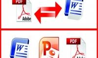 تحويل أي ملف من pdf إلى word