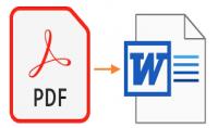 تحويل pdf الى word التعامل مع برامج مايكروسوفت
